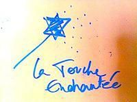 L.T.E. La Touche Enchantée Productions logo initial