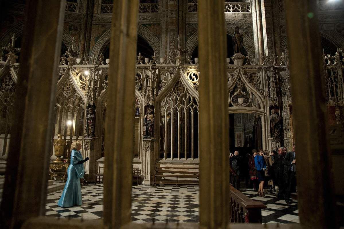 Veronica Antonelli cathédrale Sainte Cécile Albi UNESCO pour l'Association des biens du patrimoine mondial