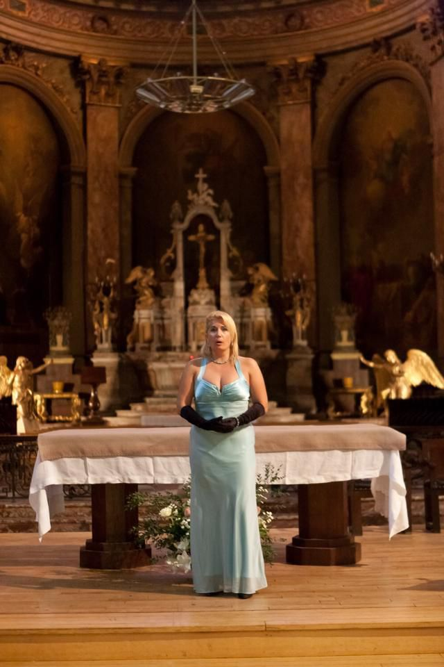 "Veronica Antonelli soprano sings ""Ave Maria"" Gounod at Daurade Toulouse France"