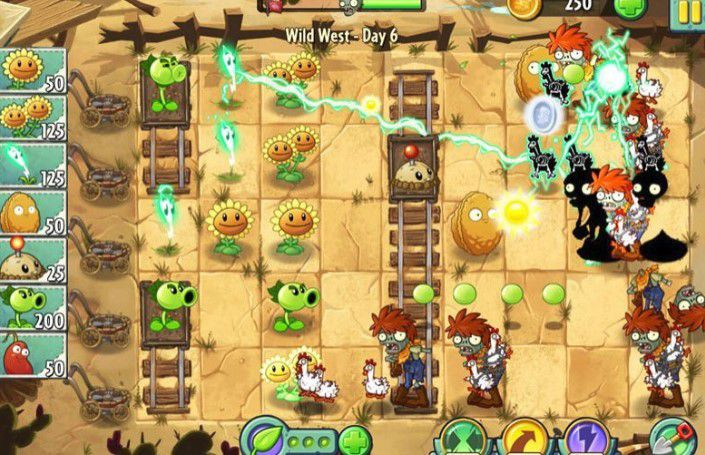 kinh nghiem choi plant vs zombies 2