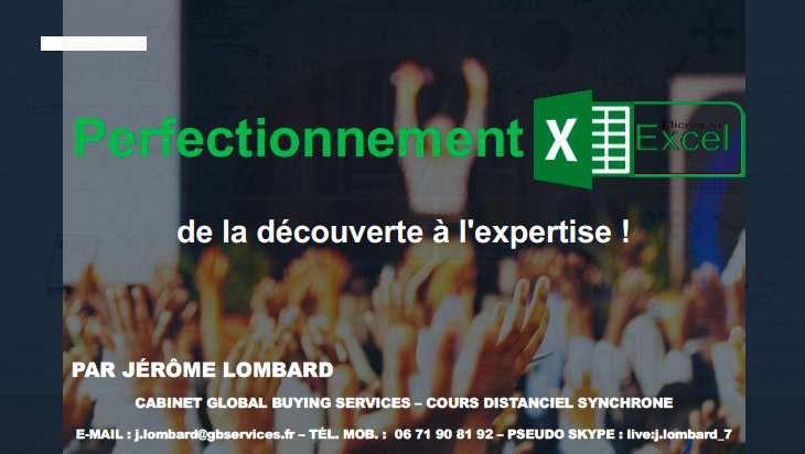 FORMEZ-VOUS ! Formations proposées par Jérôme LOMBARD