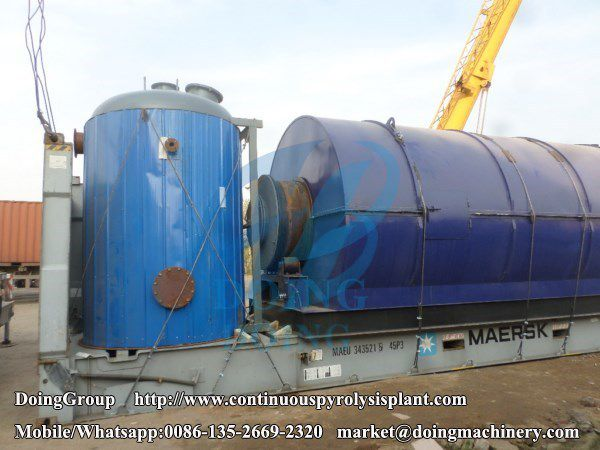 Waste Oil Distillation Plant Was Successfully Installed In