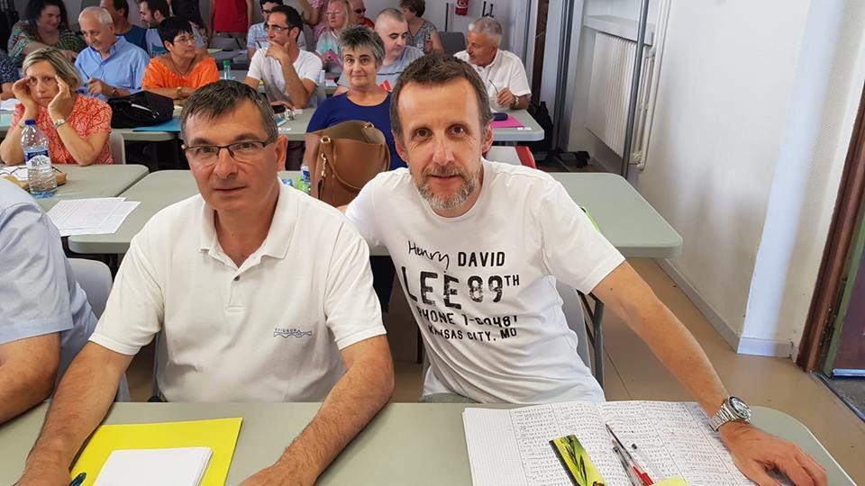 Finalistes Poule A : Denis Coste et Alain Burnel