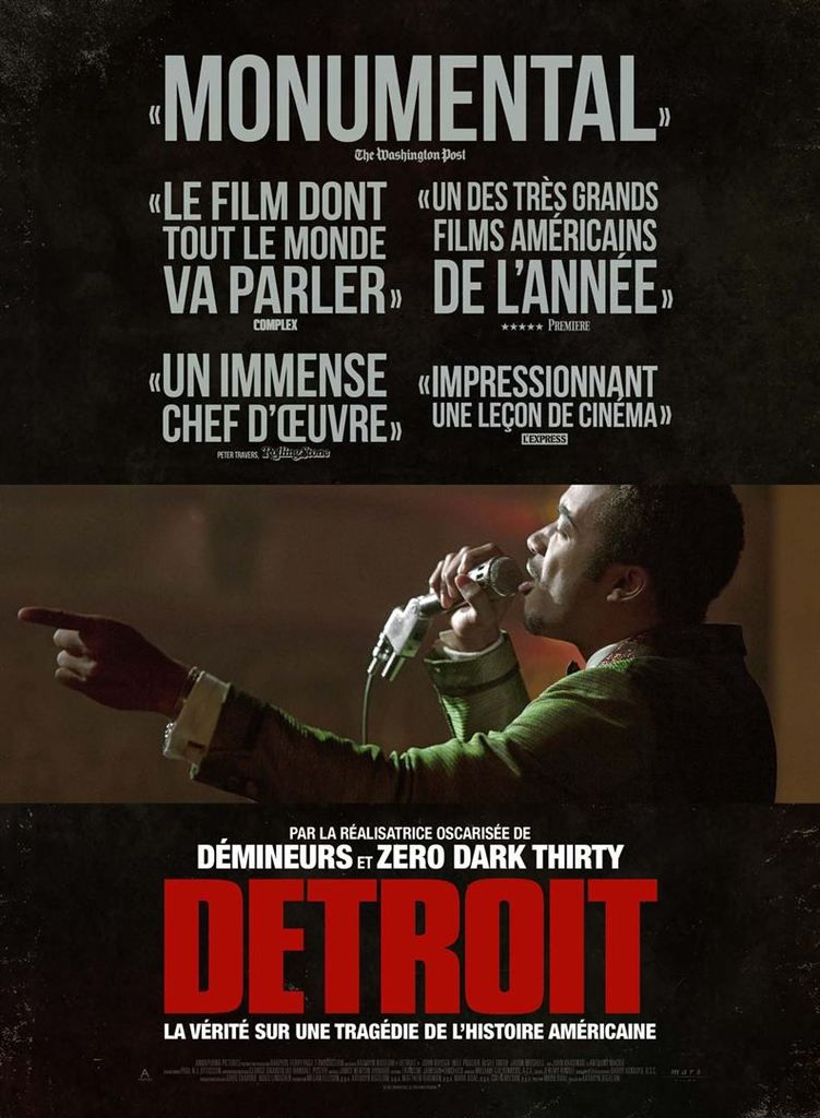 """Detroit"" un film de Kathryn Bigelow"