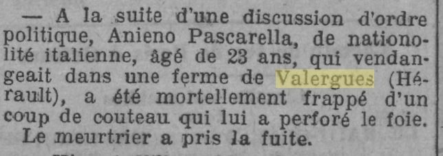 Journal L'Homme Libre du 16 septembre 1924