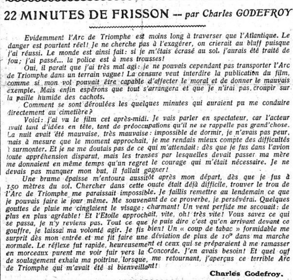 Charles Godefroy s'explique