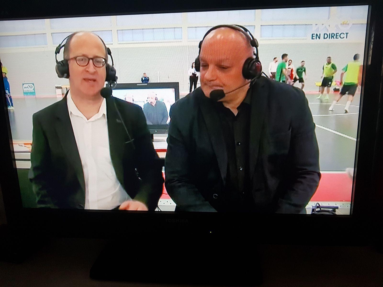 A gauche sur la photo Jean-Philippe Debarge, journaliste sportif, est le fils de la valerguoise Ghislaine Accart