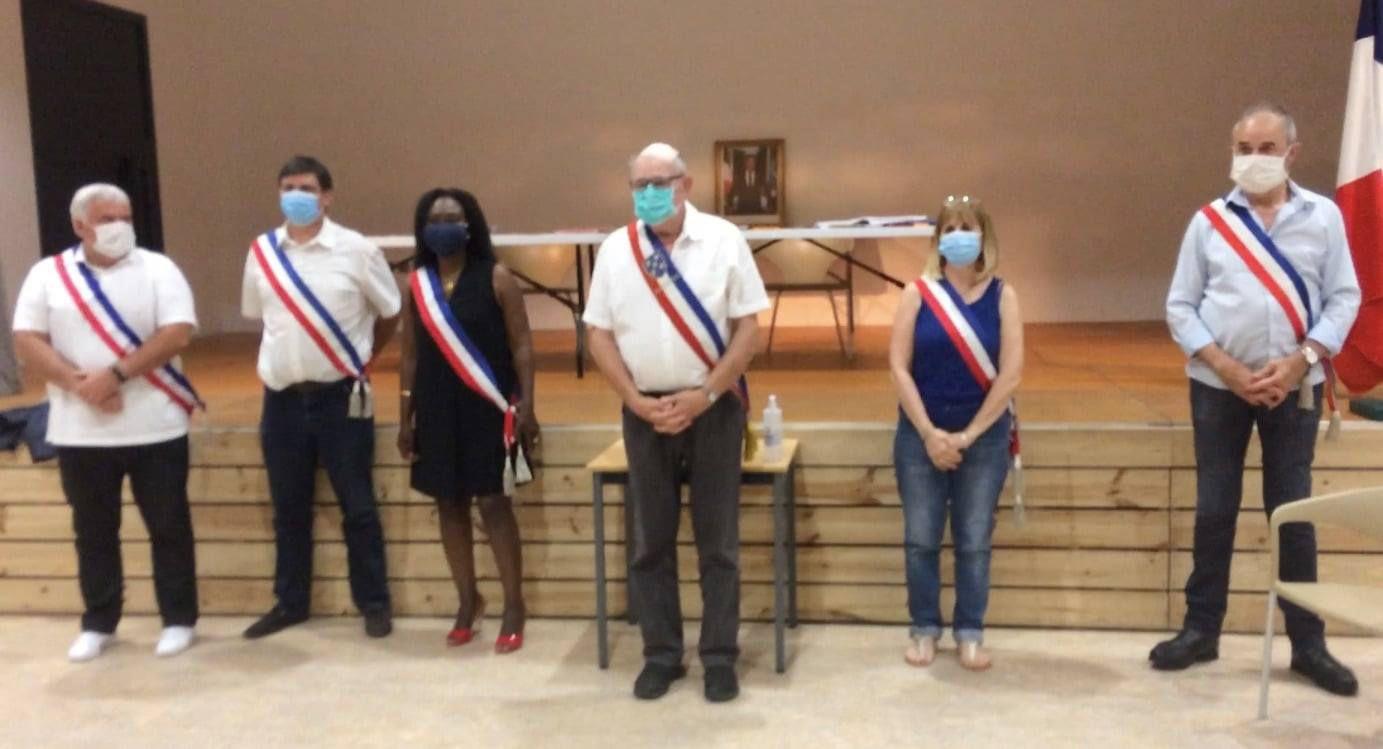 Le maire et les adjoint(e)s de Valergues élu(e)s à l'unanimité...