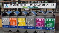 La transformation des déchets en Corée du sud