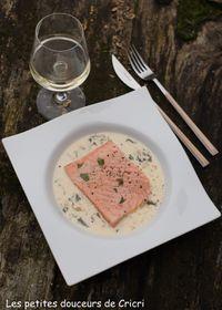 Escalope de saumon à l'oseille