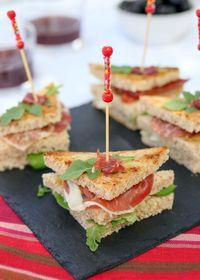 Club sandwich ibérique au jambon Pata Negra de Labeyrie