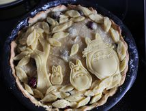 Mon gâteau Totoro...recette inside!