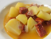 Menu du samedi 11 mars Chorizo aux pommes de terre