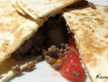 QUESADILLAS A LA VIANDE CURRY