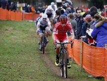 Championnat de France de cyclo-cross (Elites)  à Lanarvily -Nord Finistère, dimanche dernier.