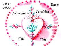 """Atelier """"Voix du coeur"""" sous Coeur de Yourte"""