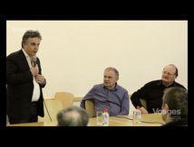 Alexandre Jardin rencontre les maire ruraux des Vosges
