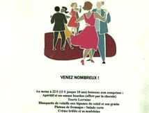 Repas dansant avec La Chorale La Clef des Chants