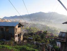 Mardi 8 novembre 2016 dans le bus pour Kohima Nagaland India