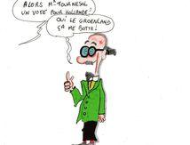 4 pour cent des français pret à voter hollande,mais c'est qui...