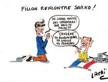 fillon rencontre maître sarko