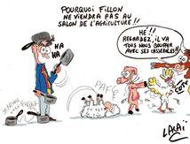 voilà pourquoi la venue de Fillon au salon de l'agriculture est impossible!!!!....