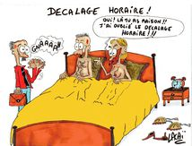 dessin decalage horaire attention c'est ce week-end!!!