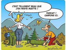 camping,dessin de delafuente