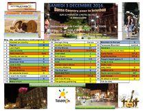 Bal Du Téléthon du 3/12/2016 au Parvis de l'hôtel de Ville à Angoulême de 11h à 14h30