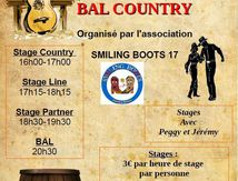 Bal country Les mathes (17) stage et bal le 13/05/2017