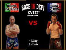 Boxe In Defi XVIII - Combat n°4