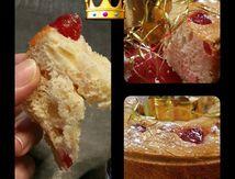 Brioche des Rois aux fruits confits (cerise, cédrat et orange)