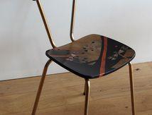 des chaises customisées