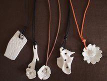 bijoux en céramique