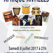 08/07/17 - Afrique-Antilles - Marseille