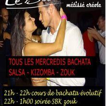 Tous les mercredis - Bachata - Salsa - Kizomba - Zouk - Avignon