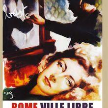 9 Avril - 0h20 - Cinéma Italien : Rome ville libre