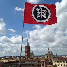 ROME : CASAPOUND À L'OFFENSIVE, POUR L'ITALIE ET POUR  L'EUROPE !