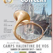 Concert à Soignies - Samedi 28 Janvier 2017