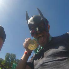 Marathon Paris 2017 quand Batman visite Paris