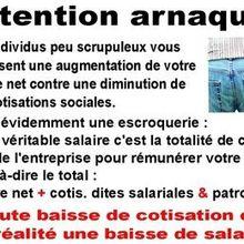 Augmenter le salaire net au détriment des cotisations sociales, l'arnaque Macron