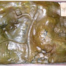 La maquette de Saunière