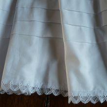 Ma robe de baptême prend forme