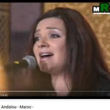 Chant sépharade andalou - Maroc Françoise Atlan