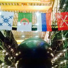 Russie : mise à l'eau d'un nouveau sous-marin pour l'Algérie