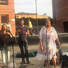 Concert Pop Créole avec Axelle Rousseau à Evry le 3 août 2017