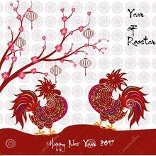 De la part de SHI YING ; bonne année du Coq !