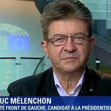 """Jean-Luc MÉLENCHON veut faire de l'élection présidentielle """"un référendum sur les traités européens"""""""