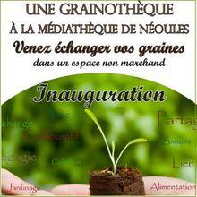 Local Var : ouverture d'une grainothèque à Néoules - 22 mars 2017