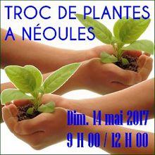 Troc de plantes de l'association Néoules en Fleurs - Néoules Dim. 14 mai 2017 - de 9 h à 12 H